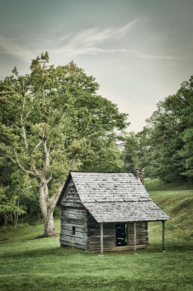 Photograph - Cabin On The Blue Ridge Parkway - 9 by Joye Ardyn Durham