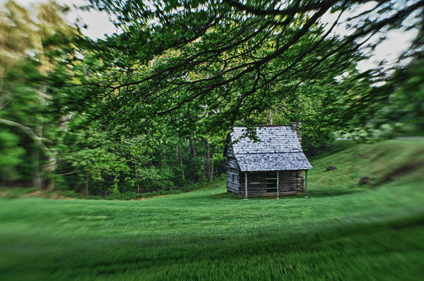 Photograph - Cabin On The Blue Ridge Parkway  by Joye Ardyn Durham