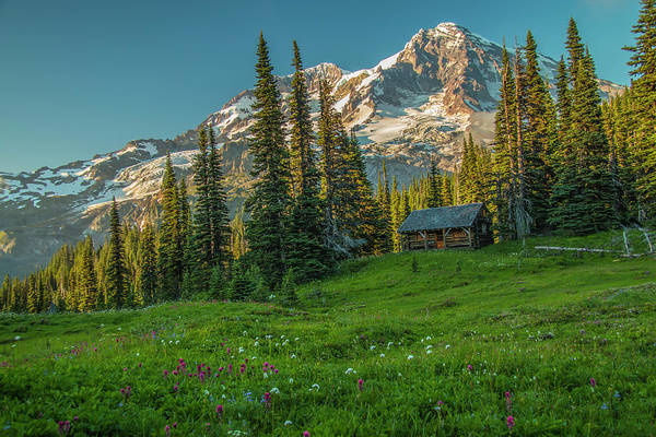 Photograph - Cabin On The Hill by Doug Scrima