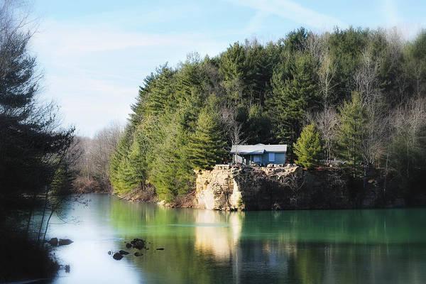 Photograph - Cabin On The Lake by John Kiss