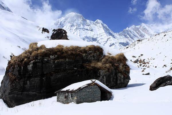 Photograph - Cabin On The Mountain by Aidan Moran
