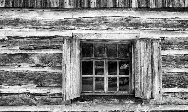 Photograph - Cabin Window by Paul W Faust - Impressions of Light