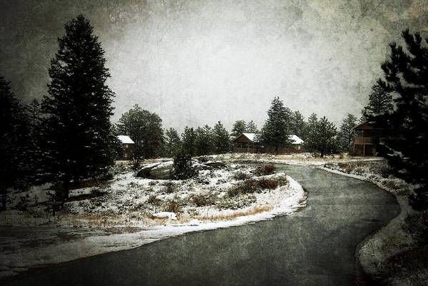 Photograph - Cabins On The Curve - Estes Park by Angie Tirado