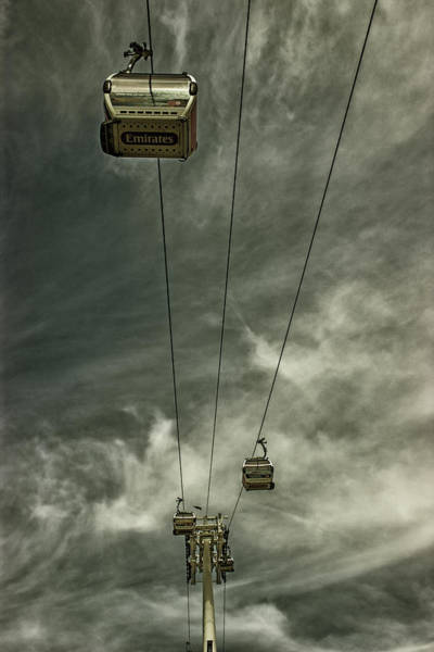 Ropeway Photograph - Cable Car by Martin Newman