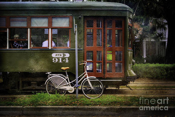 Photograph - Cable Street Car Bicycle by Craig J Satterlee