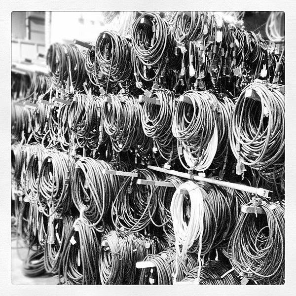 Shop Wall Art - Photograph - Cables! by Seth Tours