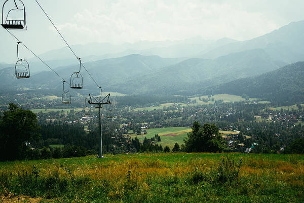 High Tatras Wall Art - Photograph - Cableway In The Tatras by Pati Photography