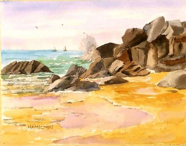 Painting - Cabo San Lucas by Larry Hamilton