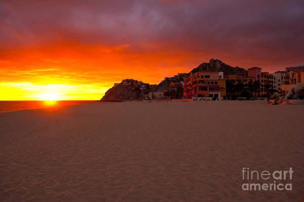 Lucas Photograph - Cabo Sunset by Ryan Burton