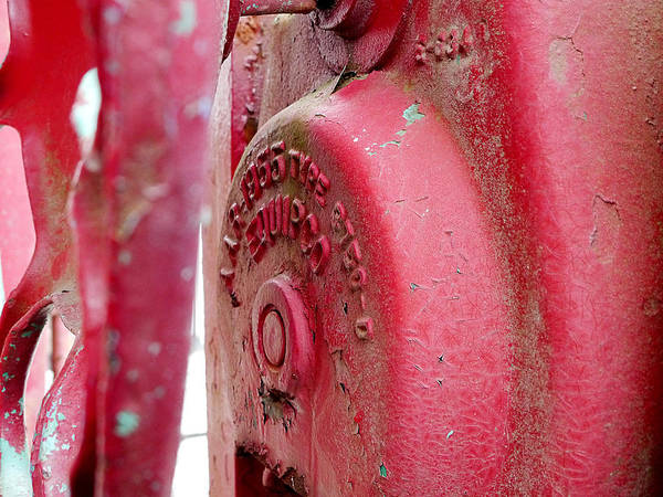 Photograph - Caboose Brake by Richard Reeve