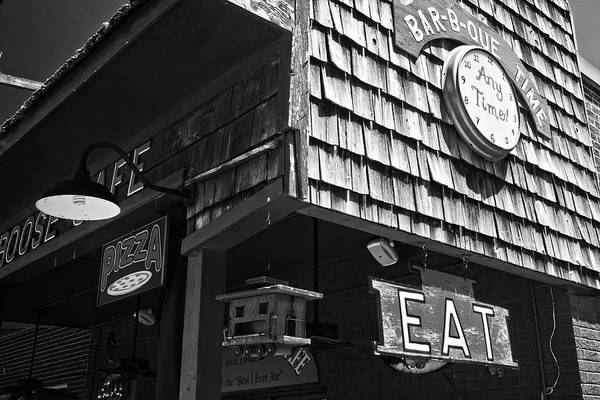 Photograph - Bar B Que Caboose Cafe by George Taylor