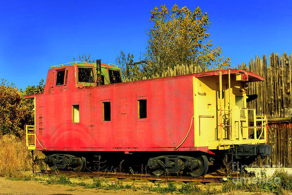 Photograph - Caboose by Jon Burch Photography