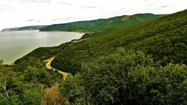Cabot Trail Photograph - Cabot Trail 5 by Olga Zavgorodnya