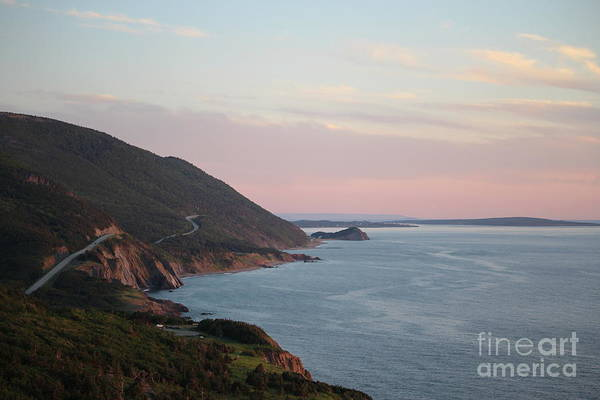 Cabot Trail Photograph - Cabot Trail At Dusk by Maria Pogoda