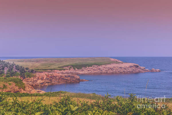 Cabot Trail Photograph - Cabot Trail Coastal View by Claudia M Photography