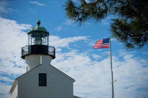Cabrillo Photograph - Cabrillo National Monument Close Up by Stephen Simpson