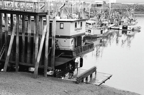 Cachalot Wall Art - Photograph - Cachalot Fishing Vessel In Dry Dock At City Of Homer Port, Alaska. by Timothy Wildey