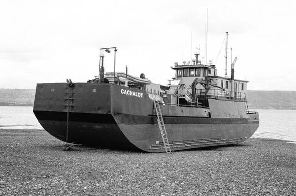 Cachalot Wall Art - Photograph - Cachalot Fishing Vessel In Dry Dock- Homer Spit, Alaska by Timothy Wildey