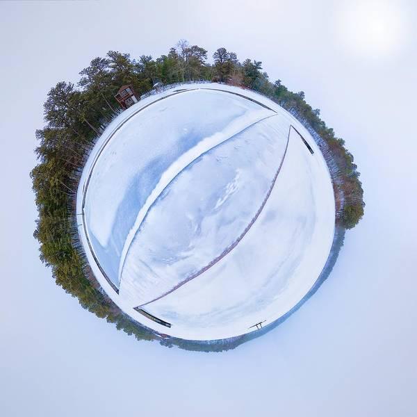 Cachalot Wall Art - Photograph - Cachalot Snowglobe by Dennis Wilkinson