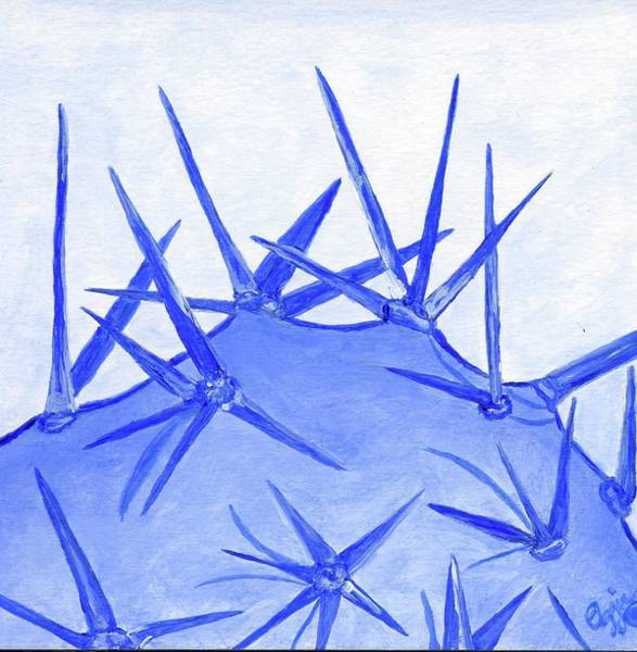 Painting - Cactus Blues by Stephanie Agliano