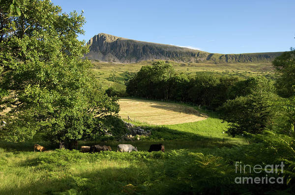 Photograph - Cadair Idris Mountain Snowdonia National Park North Wales by Keith Morris