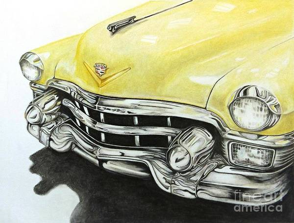 Drawing - Caddy by David Neace