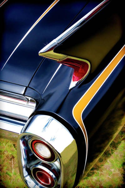 Awesome Show Digital Art - Caddy Tail by Timothy Rohman
