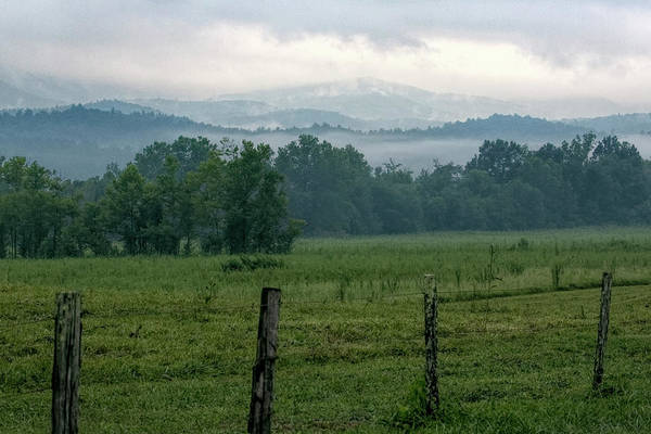 Photograph - Cades Cove Fog by Jemmy Archer
