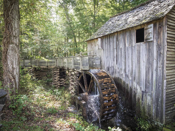 Photograph - Cades Cove Mill by Van Sutherland