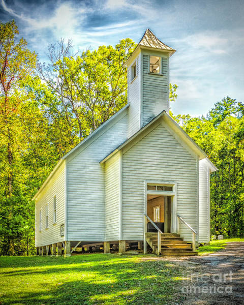 Photograph - Cades Cove Missionary Baptist Church by Nick Zelinsky