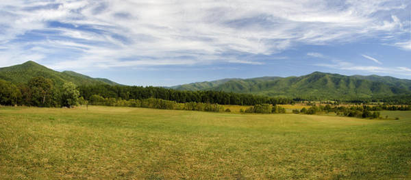Photograph - Cades Cove Panorama by Jill Lang
