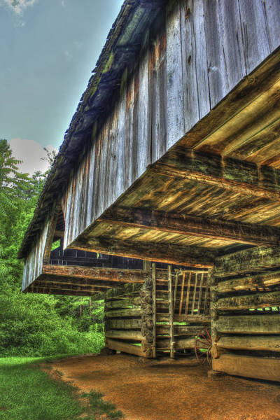 Photograph - Cades Cover Cantilever Barn 2 by Reid Callaway