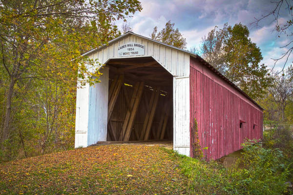 Photograph - Cades Mill Covered Bridge by Jack R Perry
