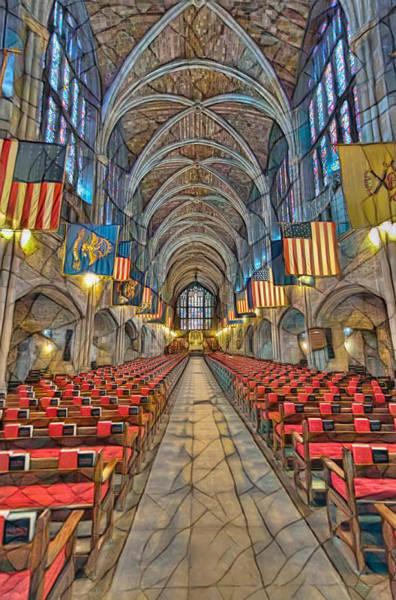 Photograph - Cadet Chapel Remix by Dan McManus