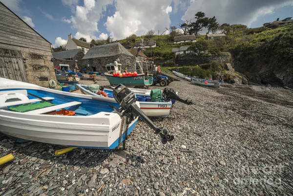 Wall Art - Photograph - Cadgwith Fishing Boats  by Rob Hawkins