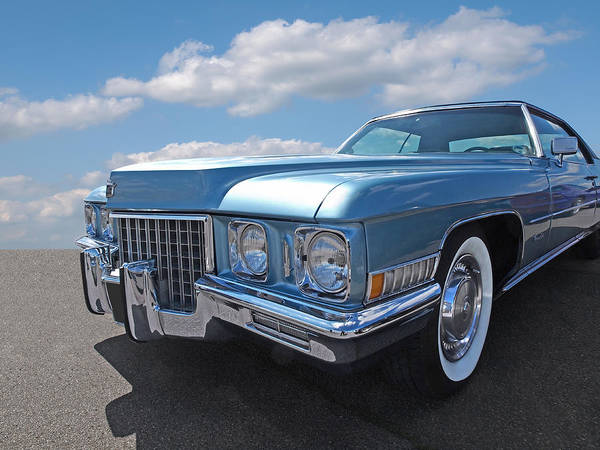 Photograph - Cadillac Coupe De Ville 1971 by Gill Billington