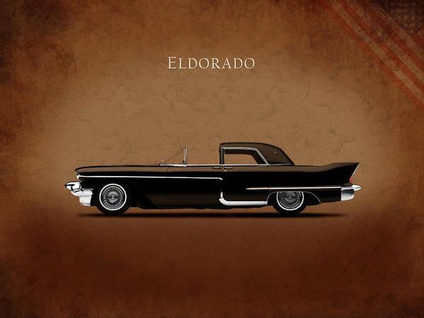 Eldorado Photograph - Cadillac Eldorado 1956 by Mark Rogan