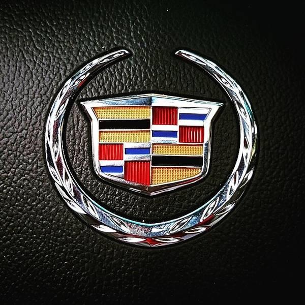 Cts Photograph - Cadillac Emblem  by Britten Adams
