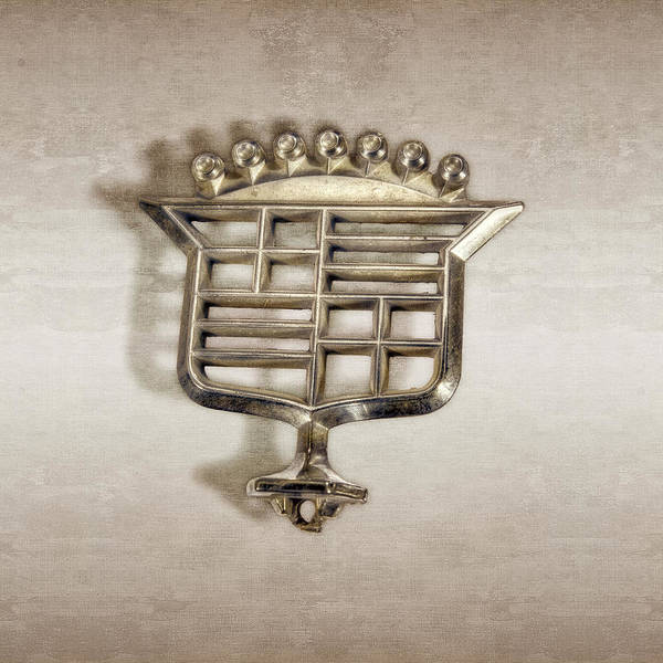 Wall Art - Photograph - Cadillac Emblem by YoPedro
