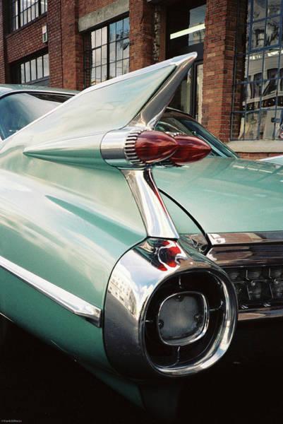Cadillac Fins Art Print
