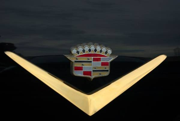 Photograph - Cadillac Hood Emblem by Tim McCullough