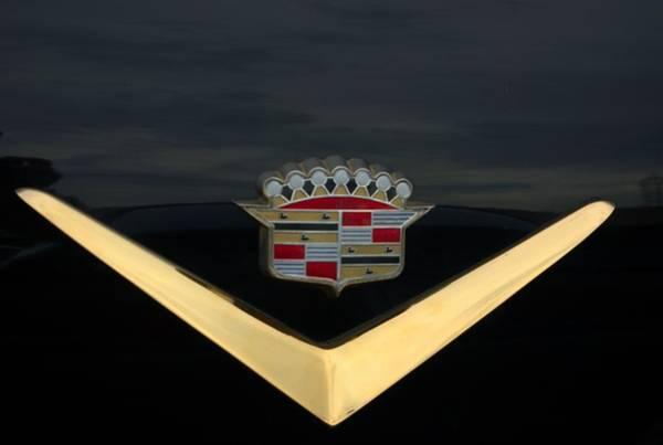Cadillac Hood Emblem Art Print