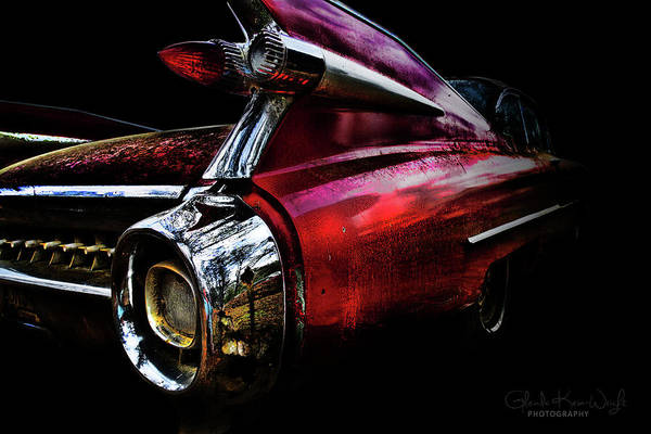 Photograph - Cadillac Lines by Glenda Wright