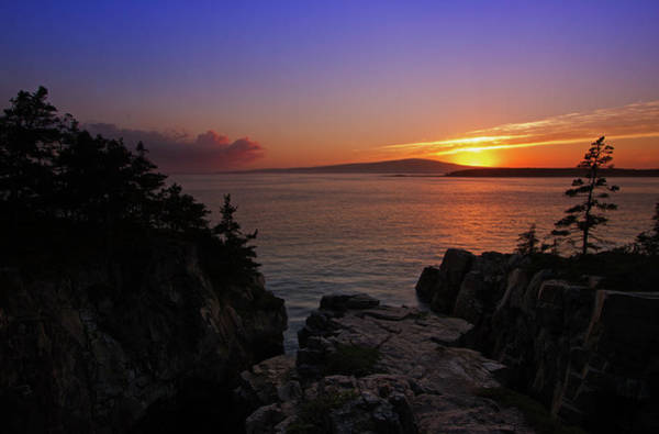 Photograph - Cadillac Mountain Sunrise by Juergen Roth