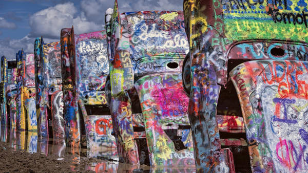 Photograph - Cadillac Ranch Afternoon II by Joan Carroll