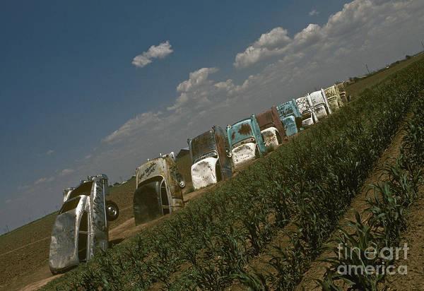 Wall Art - Photograph - Cadillac Ranch, Amarillo, Texas by Will & Deni McIntyre