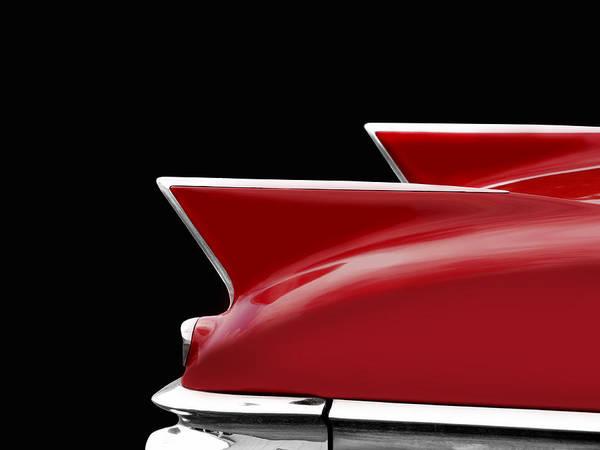 Eldorado Photograph - Cadillac Sharp Edged Fins by Mark Rogan