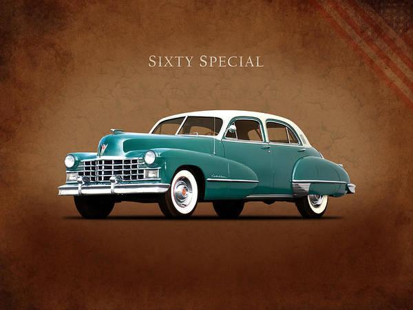 Cadillac Photograph - Cadillac Sixty Special 1949 by Mark Rogan