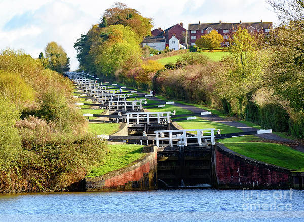 Photograph - Caen Locks by Colin Rayner
