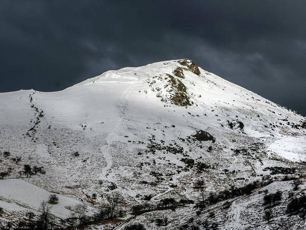Church Stretton Wall Art - Photograph - Caer Caradoc Winter by Richard Greswell